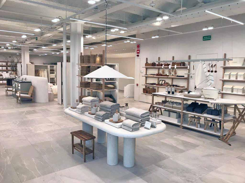 Foto interior Zara Home flagship store A Coruña