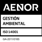 Sello AENOR 14001 Decorga nuevo
