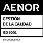 Sello AENOR 9001 Decorga nuevo
